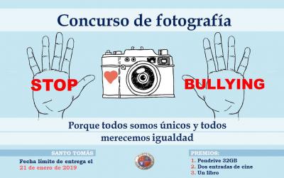 Concurso de Fotografía ¡Stop Bullying! · 2018-19