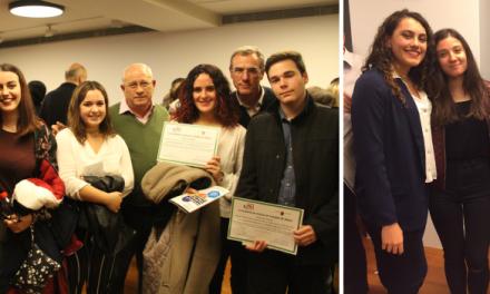 Alumnas del IES Juan Carlos I, premiadas en el V Congreso IDIES