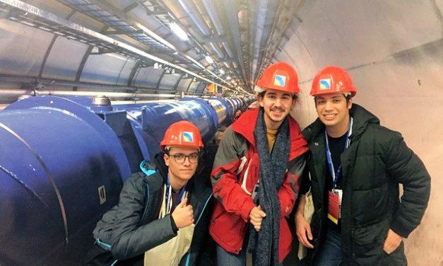 Tres alumnos del IES Juan Carlos I visitan el CERN de Ginebra
