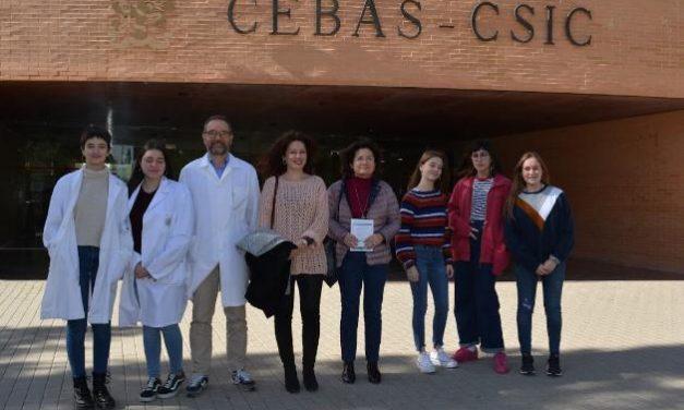 Escuelas Embajadoras: Visita al CEBAS-CSIC