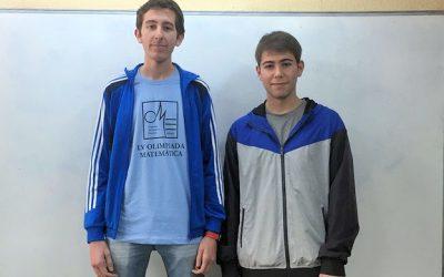 Dos premios para alumnos del IES Juan Carlos I en la LV Olimpiada Matemática Española