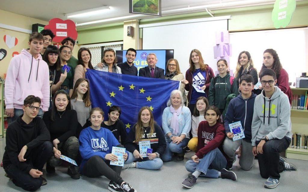 Escuelas Embajadoras: Charla «Tú eres Europa»