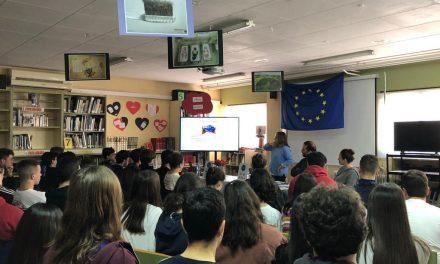 Escuelas Embajadoras: Charla de Teresa Allepuz (Europe Direct)