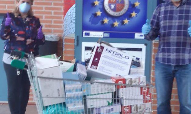 El IES Juan Carlos I aporta guantes y masacarillas para la protección contra el coronavirus