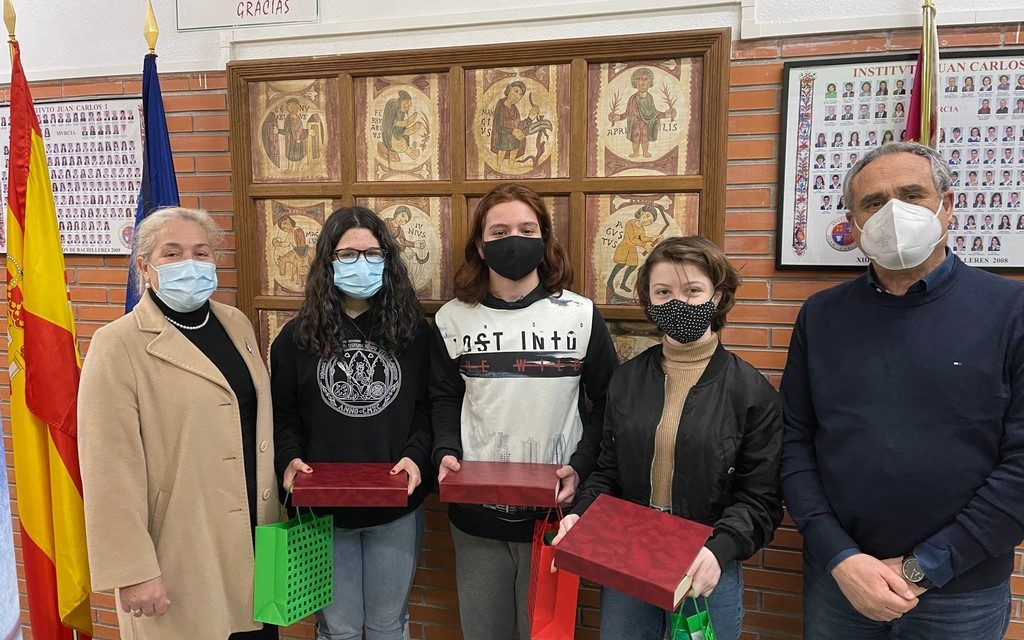 Premios del XXVIII Concurso Literario «Santo Tomás de Aquino». Dpto. de Lengua Castellana y Literatura, curso 2020-21
