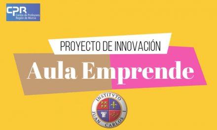 Video presentación del proyecto de innovación Aula Emprende
