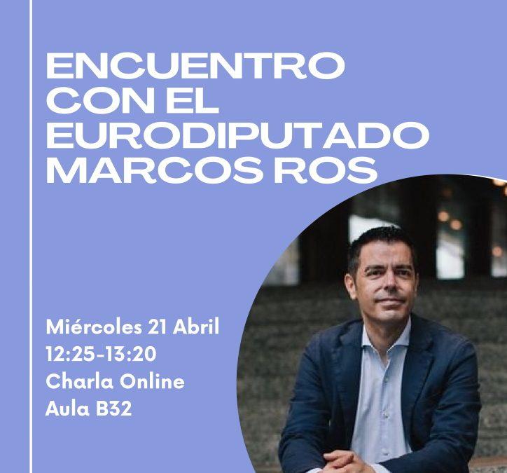 Escuelas Embajadoras: encuentro on-line con el eurodiputado Marcos Ros