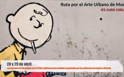 Actividad de grupos iPads: Ruta por el Arte Urbano de la ciudad de Murcia